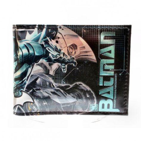 Batman Bruce Tech Wallet Purse 3D Pocket Pouch - Idol Store - Geek Cloud