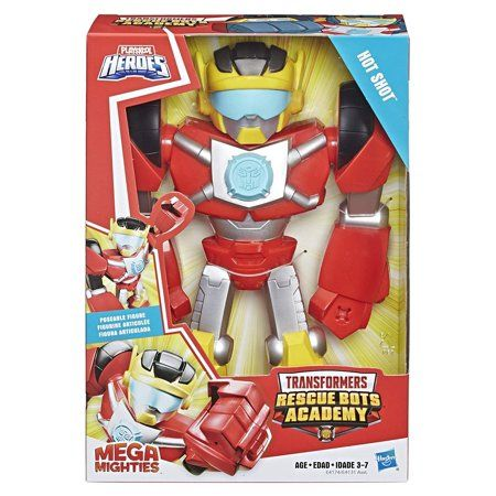Transformers Rescue Bots Academy Hot Shot 10 Inch Robot Action Figure Walmart Com In 2020 Transformers Rescue Bots Rescue Bots Transformers