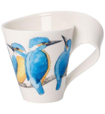 Villeroy Boch Mug Martin Pecheur Newwave Caffe Martin Pecheur In 2020 Mugs Porcelain Tea Cups
