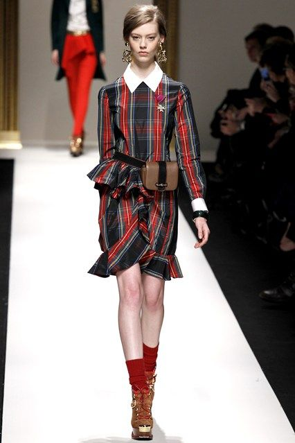 See all the Collection photos from Moschino Autumn/Winter 2013 Ready-To-Wear now on British Vogue