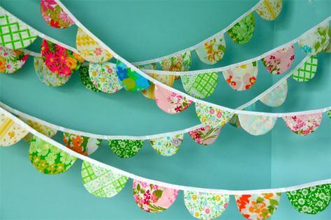 Beautiful bunting from from www.ohdeedoh.com