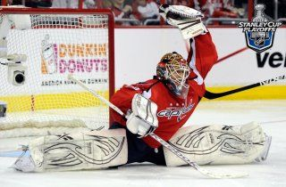 Braden Holtby, Washington Capitals in Quarterfinals Game 4 on