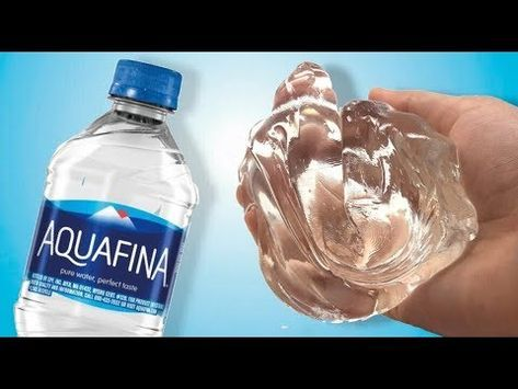 Water Slime Testing No Glue Water Slime Youtube Water Slime
