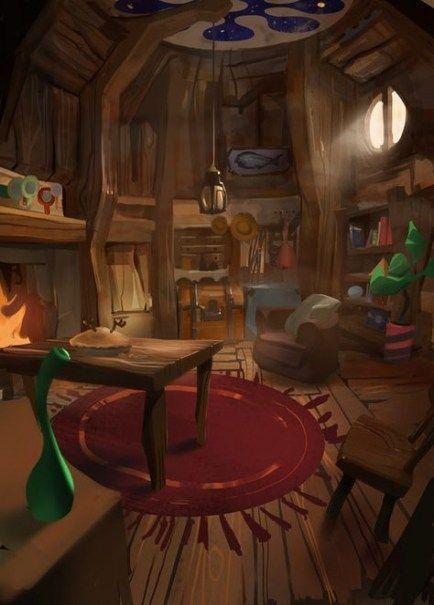 45 Ideas For House Interior Illustration House Interior