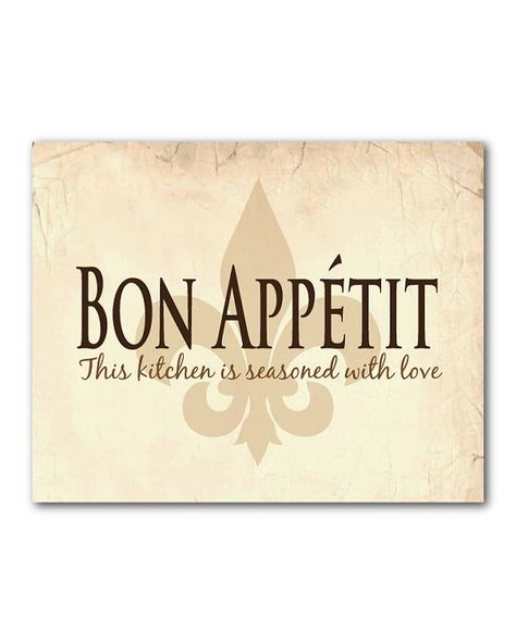 Kitchen Wall Art Bon Appetit This Kitchen Is Seasoned With Love