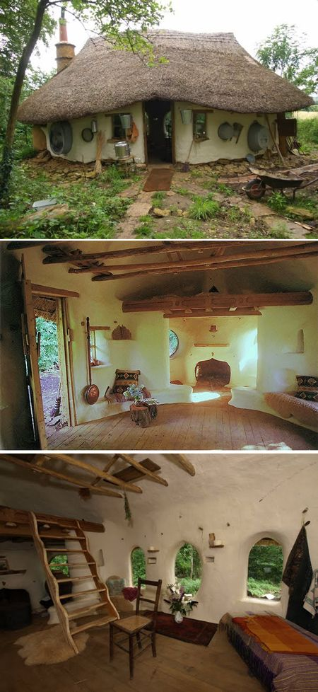 Eco-friendly Hobbit House For $250 | Homes, cabins & treehouses | Pinterest  | Hobbit, House and Tiny houses
