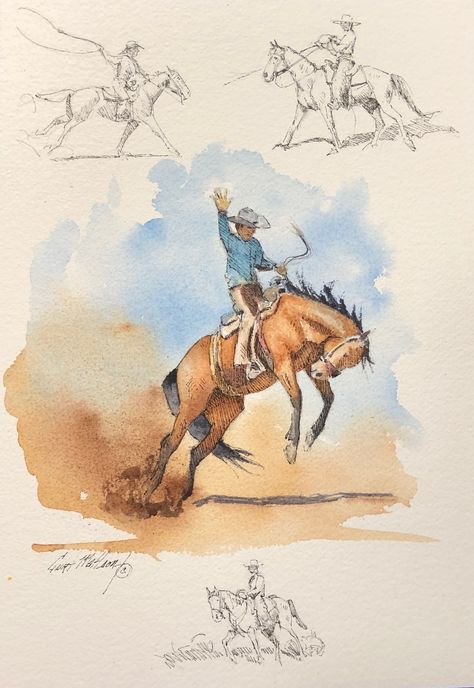 Buckaroo Sketches #40