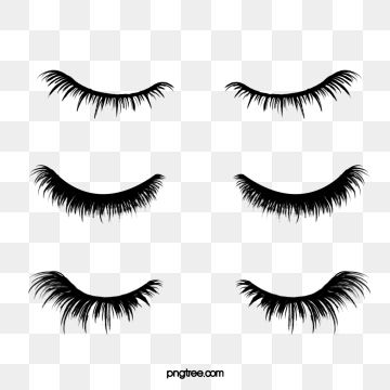 Hand Drawn Black Curled Thick Eyelashes Combination Eyes Clipart Hand Painted Black Png Transparent Clipart Image And Psd File For Free Download How To Draw Hands Thicker Eyelashes How To Draw