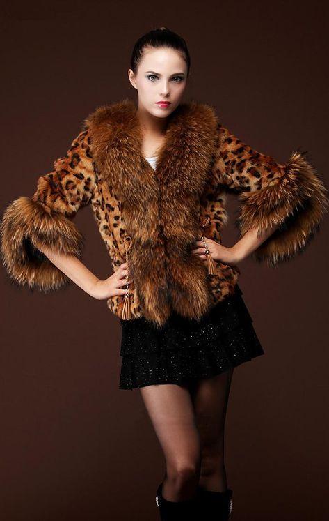 the best Hot Fashion Leopard Luxury Coat Winter Women Faux Fur Jacket Waistcoat Winter Coat Outerwear Party Parkas Manteau Abrigos Mujer