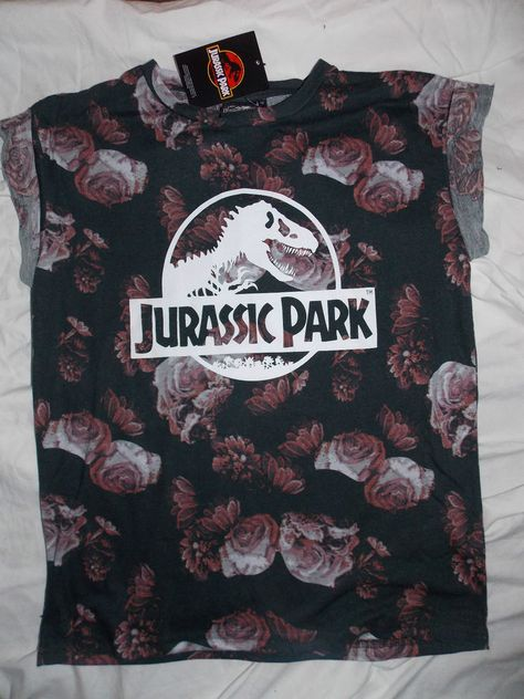 Jurassic Park T Shirt Primark Mode Femme Vetements Y Mode