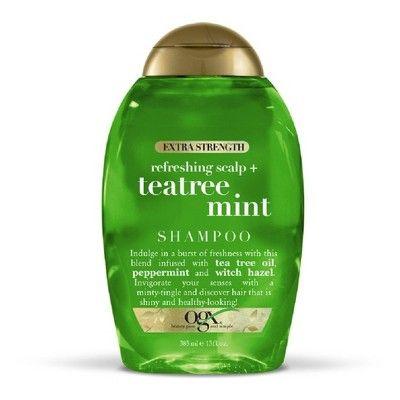 Ogx Extra Strength Refreshing Scalp Tea Tree Mint Shampoo 13