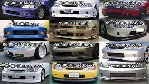 96 00 Civic Modification Options Interior Exterior D Series Org Honda Civic Civic Jdm Honda Civic Coupe