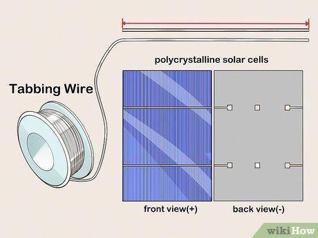 Imagem Intitulada Build A Solar Panel Step 3 Solar Panels Solar Solar Energy System