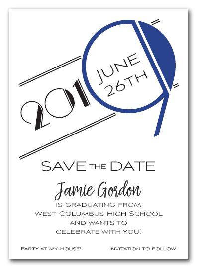Graduation Elegant Gold Black Script Save The Date Invitation Zazzle Com Graduation Announcements Save The Date Invitations Gold Invitations