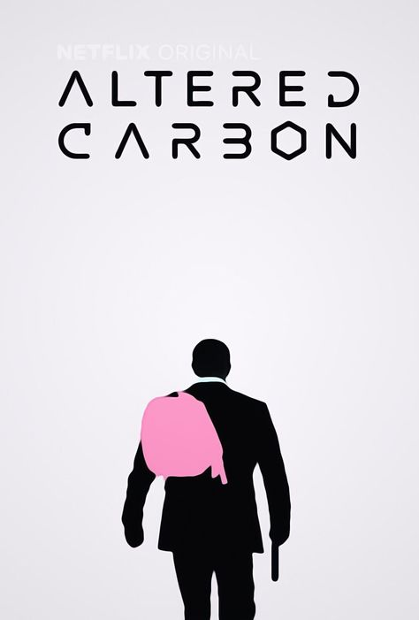 'Altered Carbon' minimalist poster by Tareq Zaghal