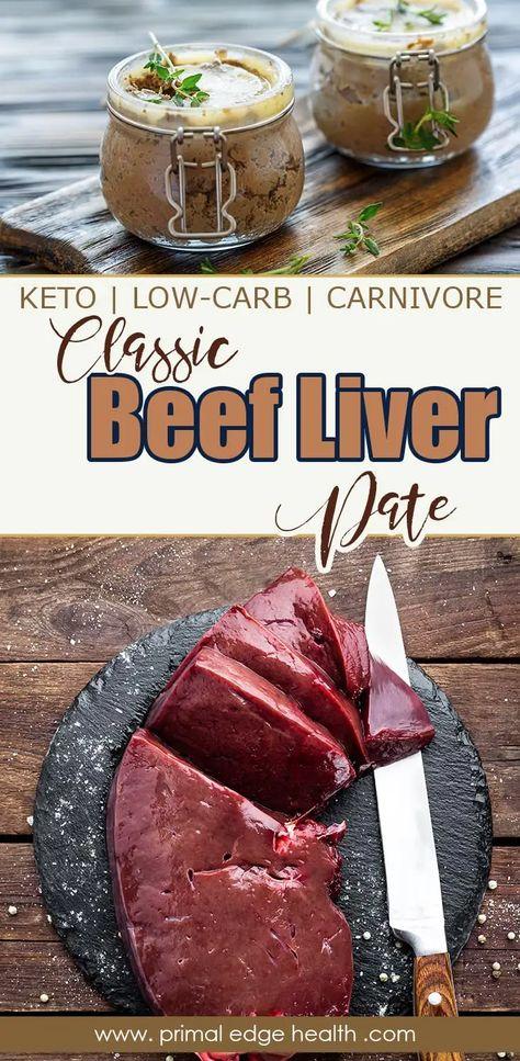 Classic Beef Liver Pate   Recipe   Beef liver, Liver ...