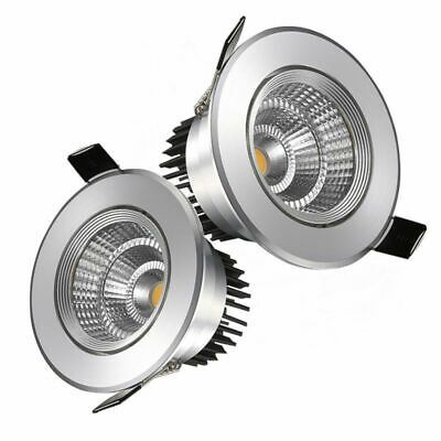 Details About Led Downlight Spotlight Cob Recessed Ceiling Light Lamp 7 9 12 15 18w 110v 220v In 2020 Downlights Recessed Ceiling Lights Lamp Light