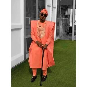 matching shirt and pantAfrican clothing  African men clothing  wedding suitgroom suitdashiki Chike African agbada set