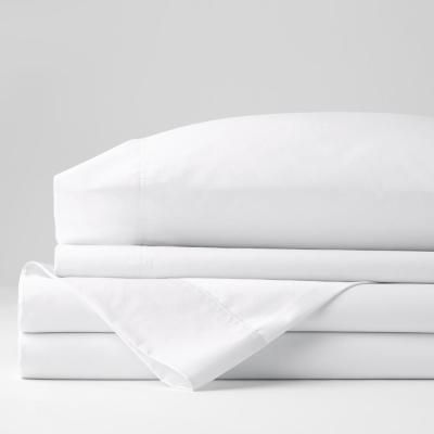 Bamboo Home Solid Fitted Sheet