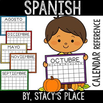 Spanish Calendar Reference Stacy S Place Calendar Months In A