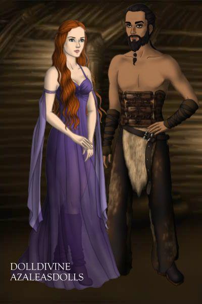 Sansa Stark And Khal Drogo Got Sansa Stark Character Creator Wonder Woman