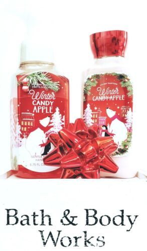 Bath Body Works Winter Candy Apple Body Lotion Foaming Hand