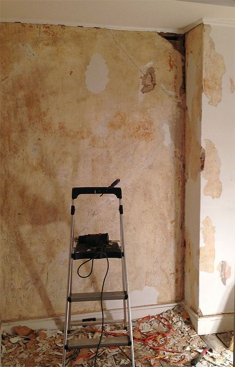 The Little Office It S Done Plaster Wall Texture Peeling Wall