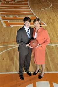 Pat Summitt, Lady Vol's Basketball Coach of the Year.  Hero on and off the court.    Alzeheimer's doesn't discriminate.