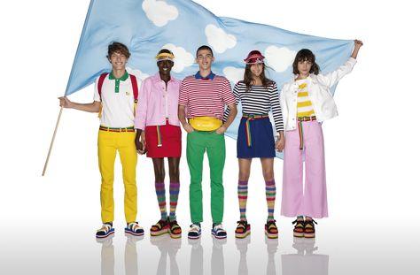 #benetton #ucb #unitedcolorsofbenetton #unitedcolors #colors #ss20 #springsummmer20 #jcc #jeancharlesdecastelbajac #multicolor #pasteloutfit #brightcolorsoutfit #multicoloroutfit