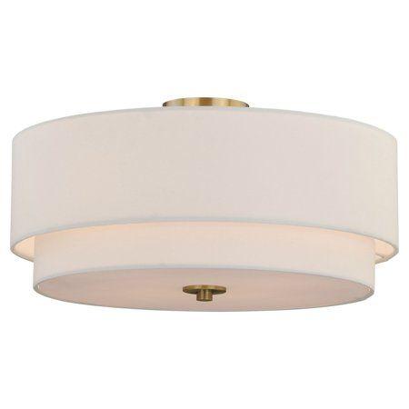 Burnaby 4l Semi Flush Mount Walmart Com Semi Flush Ceiling Lights Flush Ceiling Lights Flush Mount Ceiling Lights