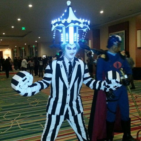 Epic Beetlejuice cosplay. View more EPIC cosplay at http://pinterest.com/SuburbanFandom/cosplay/