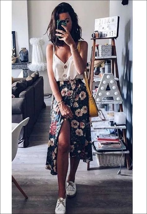 50+ Dahlia Floral Tank « The Best Fashion