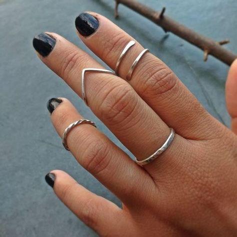 Anel de prata feminino: como combiná-lo com diversos visuais Estilo Próprio by Sir aneis