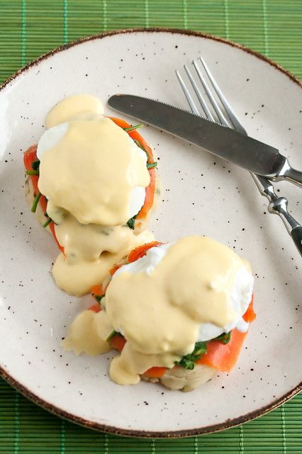 Irish Eggs Benedict (aka Eggs St Patrick): An Irish-inspired twist to the brunch classic, with smoked salmon, sauteed spinach, poached eggs and hollandaise sauce on crispy golden potato pancakes.