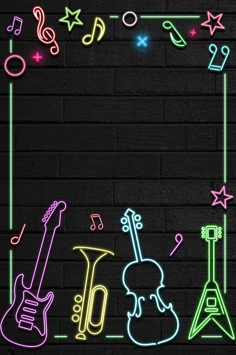 Cartel De Neón De Fantasía Creativa  Creativo Sueño Neón Pared La Musica Bar Salón De