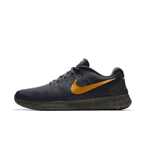 low priced 5171d 33982 Nike Free RN 2017 Essential iD Men s Running Shoe Size 8.5 (Black)