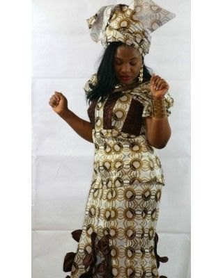 African Attire Skirt Sets AASS023