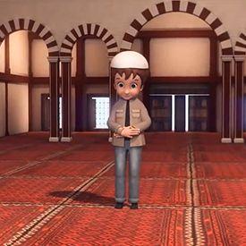Namaz Nasil Kilinir Erkek Animasyon Islam