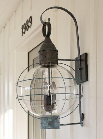 nautical lighting - love this!
