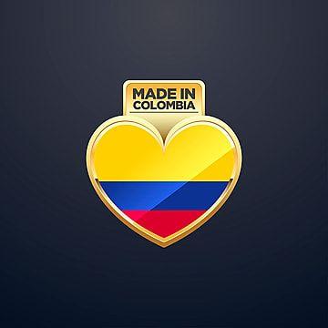 Hecho En Colombia Background Insignia Bandera Png Y Vector Para Descargar Gratis Pngtree Bandera Colombia Insignias