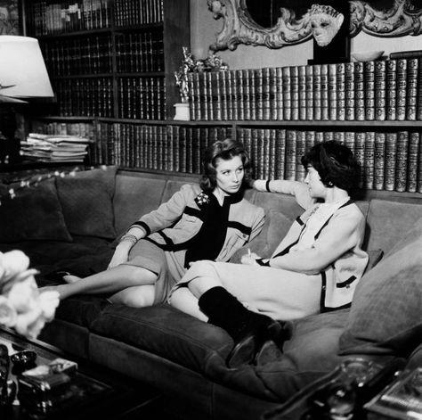 Coco Chanel and Suzy Parker fd6c354e8d1