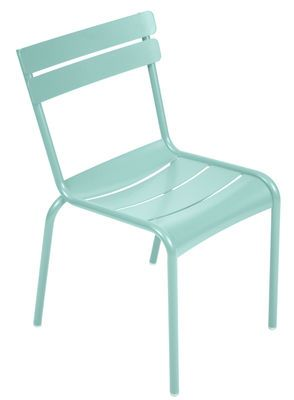 Fermob Luxembourg Stacking Chair Blue Made In Design Uk