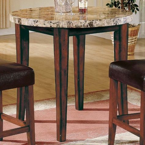 pub kitchen table and dining room chairs steve silver montibello counter height round