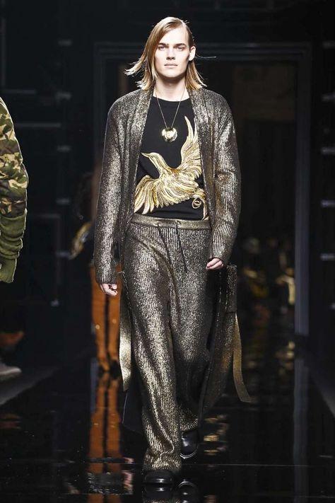 Balmain @ Paris Menswear A/W 17