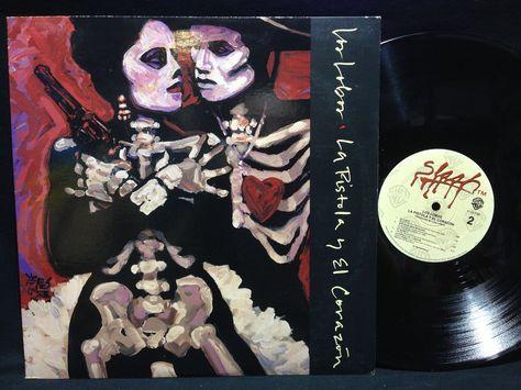 LOS LOBOS / LA PISTOLA Y EL CORAZON 1986 Album Original LP Vinyl Record