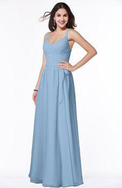 ColsBM Alana Dusty Blue Bridesmaid Dresses - ColorsBridesmaid