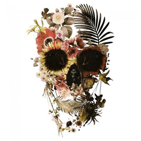 Garden Skull Design by aligulec