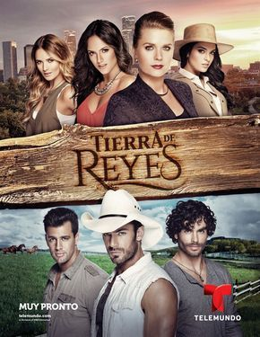Production Kicks Off On Telemundo S Tierra De Reyes Seat42f Romantic Movies Telenovelas Telemundo