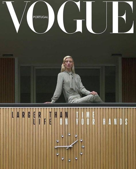Maggie Maurer for Vogue Portugal February 2018 | Art8amby's Blog