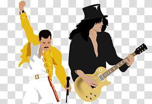 Music Art Queen Slash Transparent Background Png Clipart Freddie Mercury Tribute Concert Guitar Illustration Ibanez Acoustic Guitar